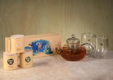 מארז מתנה תה קנקן וכוסות