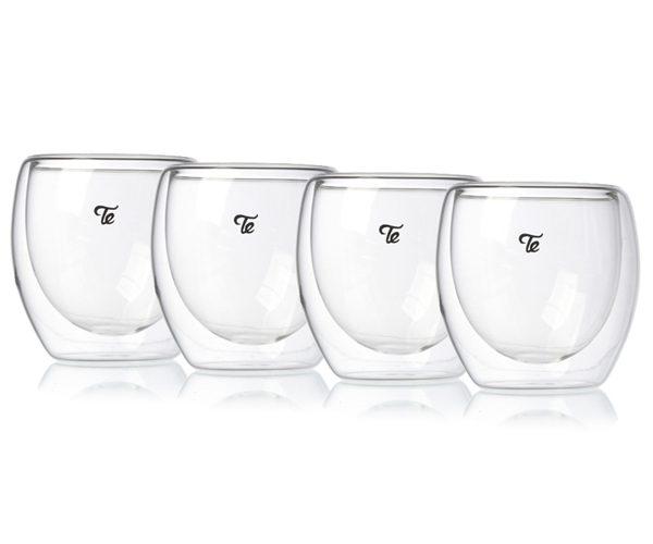 כוסות דאבל גלאס 80 מ״ל
