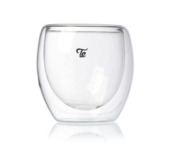 כוס זכוכית דאבל גלאס 80 מ״ל