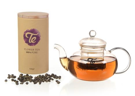 תה יסמין וקנקן
