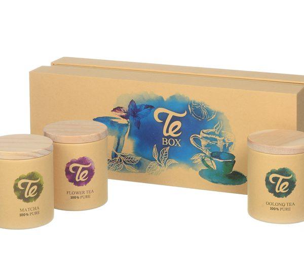 מארז מתנה שלישיית תה טבעי
