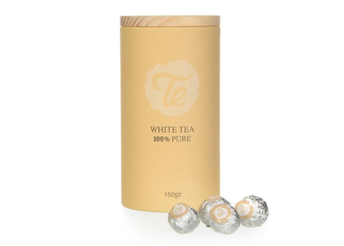 תה לבן בכדורים