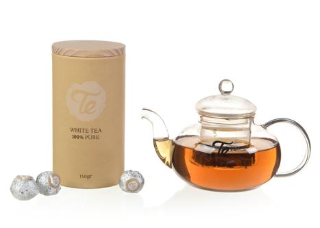 תה לבן וקנקן