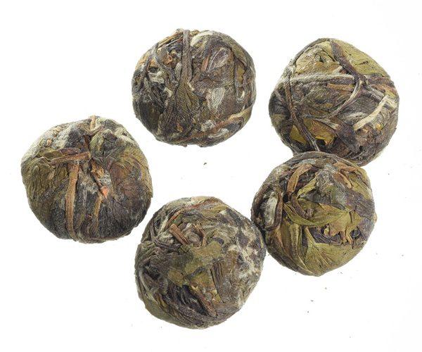 כדורי תה לבן
